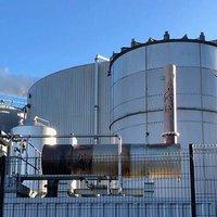 CHP generator set exhaust silencer
