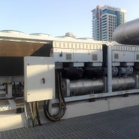 Chiller unit noise control