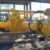Gas pipeline acoustuic lagging noise control
