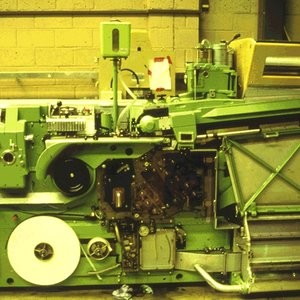 Molins cigarette making machine noise reduction