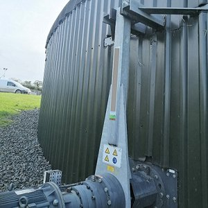 anaerobic digester noise control