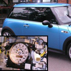 Automotive dashboard sounder production noise test