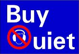 buy quiet logo
