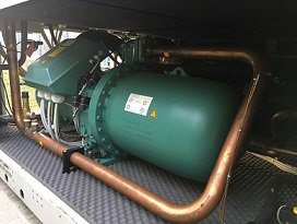chiller compressor noise control