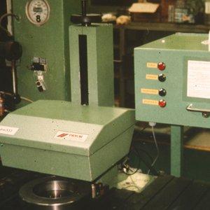 Crankshaft damper fill production test