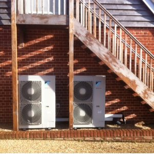 noise from heat pumps
