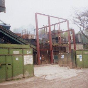 scrap recycling yard impact noise control