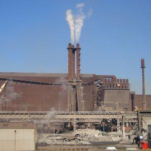 Tata steel gas fan stack noise attenuation