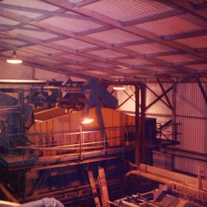 tunnel boring vibratory sieve noise reduction